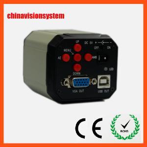 China VGA+USB Double output Microscope Camera/Industrial Camera on sale