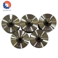 0.04-0.3mm Polycrystalline diamond PCD wire drawing die for copper and stainless steel wire Manufactures