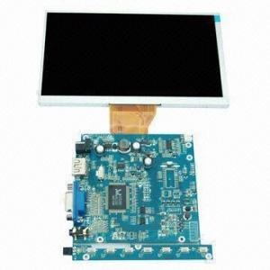 LCD Module with AV/VGA/HDMI Input Signal, 400cd/m Manufactures