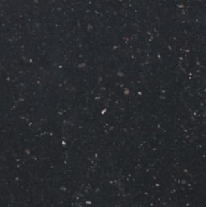 Black Galaxy granite table tops , polished natural granite stone Manufactures