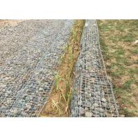 China Welded Wire Mesh Netting Gabions Fencing For Retaining Walls , Gabion Wall Baskets on sale