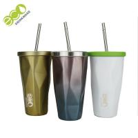 Classic Tumbler Coffee Mug / Personalized Tumbler Cups With Lids And Straws Manufactures