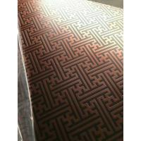 304 Hairline Bronze Stainless Steel Plate Copper Plating Sheet Brass Color Manufactures