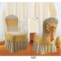 China ChairDesign Cheap Soft Dine Hotel Banqet Wedding Chair Covers tablecloth (Y-27) on sale
