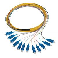 Fan-out Fiber Optic Pigtails Fiber optic assembly FTTH fast connector Quick Connector Manufactures