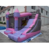 Advertising Inflatable Castle Bouncer Made Of PVC Tarpaulin For Exhibition Manufactures