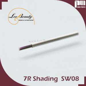 CE Sterilized 7/9/17 Prong PMU Professional Tattoo Needles For Shading needle Manufactures