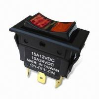 Buy cheap Rocker Switch with 3 Positions, OEM and ODM Orders are Accepted from wholesalers