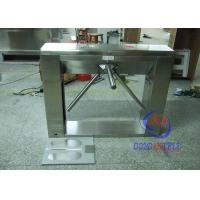 Waist height Mobile phone apps Tripod Turnstile Gate , office building turnstile security gates Manufactures