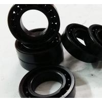 PEEK Cage Ceramic Deep Groove Ball Bearing 6802CE Si3N4 For Auto Transmission Manufactures