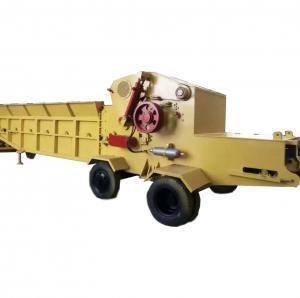 Wood Horizontal Grinder equipment /Shredder log Chipper Machine for sale Manufactures