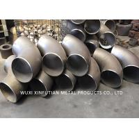Polished Stainless Steel Elbow Fitting / 316L Stainless Tube Fittings For Chemical Manufactures