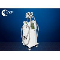 4 Treatment Heads Cryolipolysis Slimming Machine 220V / 110V For Beauty Salon Manufactures