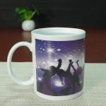 Full printing heat sensitive color changing mugs dance coffee mug Manufactures