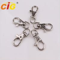 Snap Clasp Hook Nickle Plated Garments Accessories Lobster Claw Swivel Clasps Manufactures