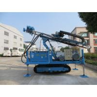 Rotary System Drilling Rig Construction , Hydraulic Crawler Drilling Machine Manufactures