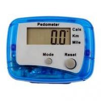 China Digital Clock calorie and fat STEP DISTANCE counter Pedometer TO RECORD YOUR DAILY  on sale