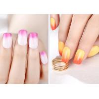 Multi Color MSDS GMP Mood Changing Gel Nail Polish Environment - Friendly Manufactures