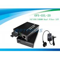 Buy cheap 20 Km Single Mode Fiber Media Converter from wholesalers