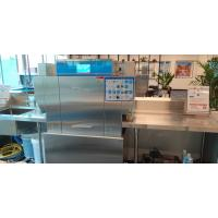 Large Capacity Rack Conveyor Dishwasher With High Power Pump 1300-2300 Dishes Manufactures