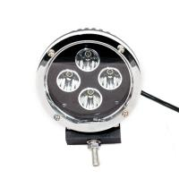 China 40 Watt 30 Volt 5.5 Inch Round Car LED work light Headlights Black Aluminum Housing on sale