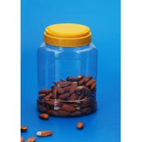 Lightweight Candy Storage Jars , Eco Friendly Plastic Food Jars 1200Ml Manufactures
