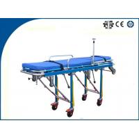 Auto Loading Ambulance Trolley Stretchers Multifunctional Aluminum Alloy for Outdoor Rescue Manufactures