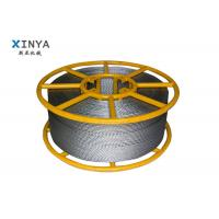 Hexagon Anti Twisted Pilot Rope Galvanised Steel Wire Rope With 12 Strands Manufactures