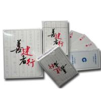 Custom Printing Paper Card , CMYK Colors Pokers Printing , Standard Size Poker Manufactures