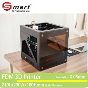 Wholesale desktop large FDM 3D printer, 3D printer machine with printing size 210*200*180mm