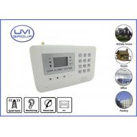 Quality GSM-A100 Wireless Pemote Control GSM Home Security Alarm System for House and Office within 100m for sale