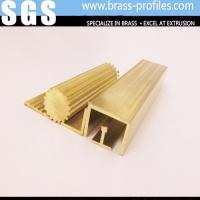 C38000 2% Lead Brass Profiles Extrusions For Home / Hotel Plans Manufactures