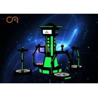 1kw Virtual Reality Treadmill Simulator Interactive Game For 4 Players Manufactures