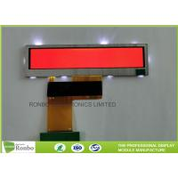 Small Size Bar TFT LCD Display 3.8'' Resolution 480x76 40 Pin RGB Interface Manufactures