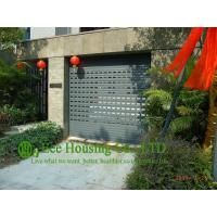 China Grey Color Remote Control Aluminum alloy rolling garage door, Powder coating Surface on sale