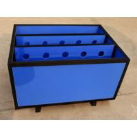 Eco - Friendly Storage Corrugated Plastic Boxes , Chemical Resistance Pp Hollow Box Manufactures