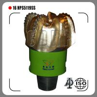 """16"""" 5 blades China fixed nozzle PDC Drill Bit plant for rock drilling Manufactures"""