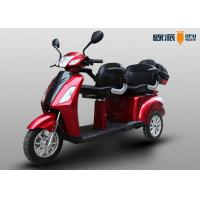 Double Seat Electric Disabled Scooters For Elderly Adults 25km/h Max Speed Manufactures
