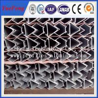 Top quality aluminum gutter profiles, profil aluminum extruded Manufactures