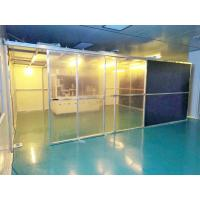 Buy cheap Class 100 Hard Wall Modular Clean Room Equipment For Laboratory , Long Use Time from wholesalers