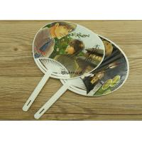 Customized Magazine Hand Held Folding Fans Plastic Material Handwork Craft Manufactures