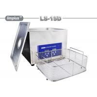 15 Liter Limplus Stainless Steel Ultrasonic Cleaner For Kitchen Heavy Oil Remove Manufactures