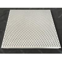 Leaf Shaped Fireproof Clip In Ceiling Perforated Aluminum Acoustic False Ceiling Manufactures