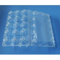 Quality wholesale disposable plastic egg tray 15 quail egg plate for sale