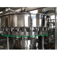 Quality Durable Juice Filling Machine , Fruit Juice Processing Line SUS304 Stainless Steel Material for sale