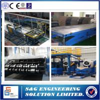 China Continuous PU Sandwich Panel Production Line PLC Control Rubber Belt on sale