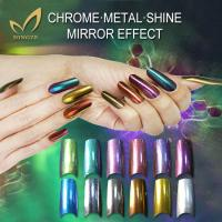 High gloss mirror effect pigment for coating on nail Manufactures