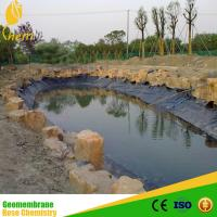 black color HDPE Geomembrane used for refuse dump Manufactures
