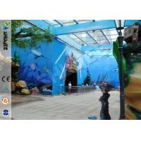 Amusement Hydraulic / Electric System 4d Cinema With Digital Video Projector System Manufactures