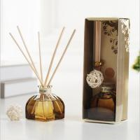 Decorative Home Reed Diffuser Natural Essential Oil Aroma Glass Bottle Reed Diffuser Manufactures
